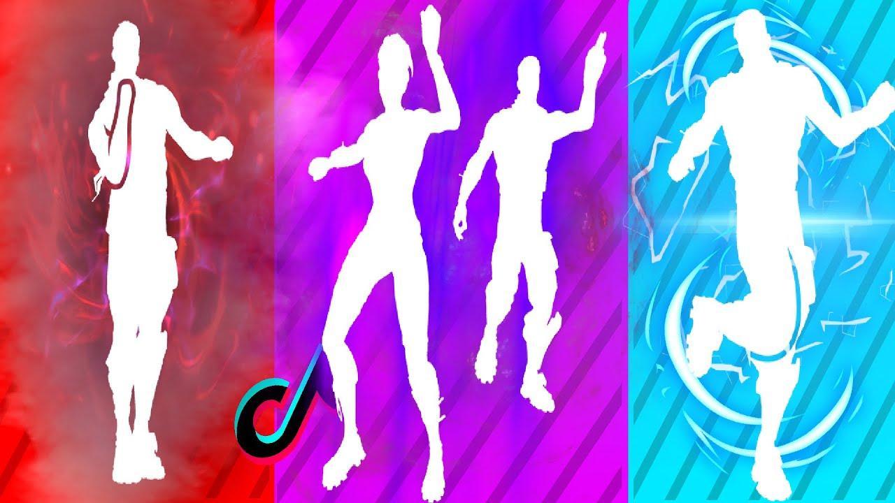 Танцы из ТикТока в Фортнайт