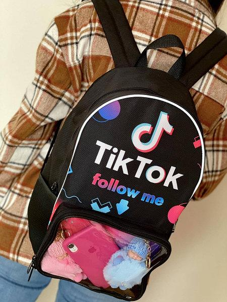 Где купить портфель с логотипом Tik Tok